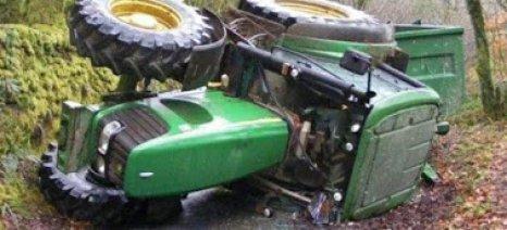 Ωραιόκαστρο: Νεκρός 70χρονος αγρότης από ανατροπή τρακτέρ