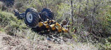 Τραγικό θάνατο βρήκε 42χρονος στην Κοζάνη όταν τον καταπλάκωσε το τρακτέρ που οδηγούσε