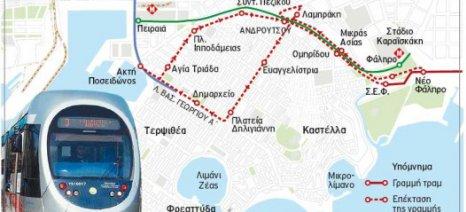 Κυκλοφοριακές παρεμβάσεις έως τον Σεπτέμβριο του 2016 στον Πειραιά λόγω τραμ