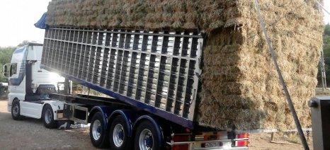 Δωρεάν ζωοτροφές από την ΕΑΣ Λακωνίας στους πληγέντες κτηνοτρόφους της Νεάπολης