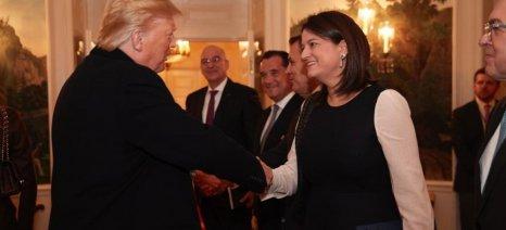 Κεραμέως από Ουάσινγκτον: «Στόχος μας η Ελλάδα να καταστεί διεθνές κέντρο εκπαίδευσης»