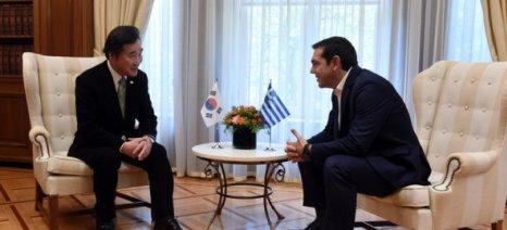 Τσίπρας: Η οικονομική συνεργασία με τη Ν.Κορέα μπορεί να αποκτήσει σημαντική δυναμική