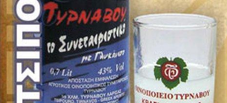 Προβλήματα στην προκήρυξη προγράμματος προβολής τσίπουρου του ΑΟΣ Τυρνάβου