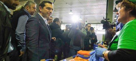 Μείωση φορολογίας ζήτησαν από τον Αλ. Τσίπρα οι συνεταιριστές του Βελβεντού
