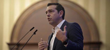 Αφίχθη στη Ρόδο ο Πρωθυπουργός και μεταβαίνει στην Τήλο για τις πασχαλινές διακοπές