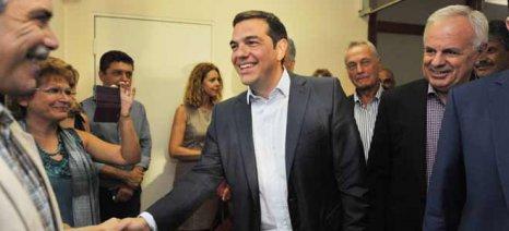 Το περίπτερο του ΥΠΑΑΤ εγκαινίασε ο πρωθυπουργός στη ΔΕΘ