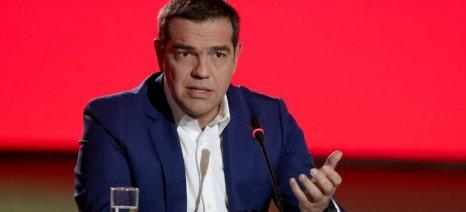 """Τσίπρας στη ΔΕΘ για ελληνοποιήσεις: """"Υπήρξε μια υπερ-προσπάθεια, που έφερε αποτελέσματα"""""""