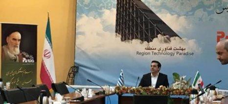 Συνεργασία μακράς πνοής Ελλάδας-Ιράν
