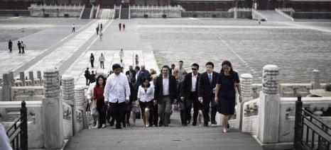 Διεύρυνση των ελληνικών εξαγωγών αγροτικών προϊόντων και τροφίμων στην Κίνα