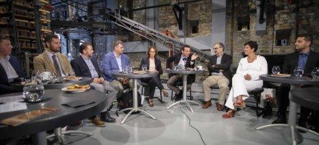 Οι μισές από τις νεοφυείς επιχειρήσεις που συνάντησε ο Τσίπρας στο Βόλο ασχολούνται με τη γεωργία και τα τρόφιμα