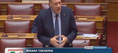 Τζελέπης: Τα μέτρα της κυβέρνησης εις βάρος του πρωτογενούς τομέα ξεπερνούν το 1 δισ. ευρώ μόνο για το 2016