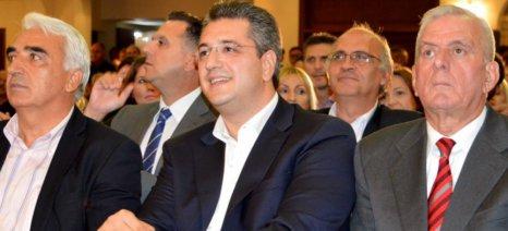 Τζιτζικώστας: Δίνουμε έμφαση στον πρωτογενή τομέα, την παραγωγική και αναπτυξιακή βάση της χώρας