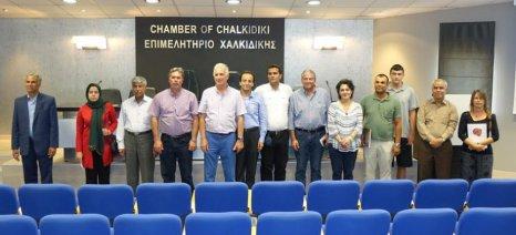 Τη Χαλκιδική επισκέφτηκε η ιρανική Ένωση Παραγωγών Κελυφωτού Φιστικιού