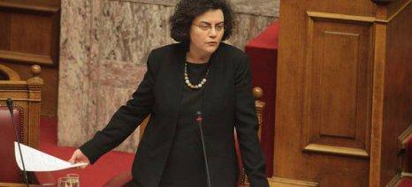 Βαλαβάνη: Με τροπολογία, δεν θα φορολογηθούν οι αγροτικές ενισχύσεις του 2014