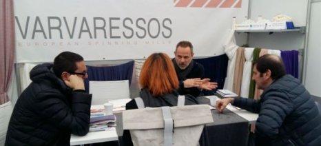Στη Διεθνή Έκθεση Νημάτων «FILO» του Μιλάνο η Βαρβαρέσος