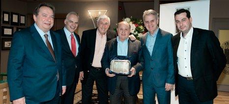 Ο ΣΕΑΟΠ τιμά τον Εκτελεστικό Πρόεδρο των Hellenic Duty Free Shops