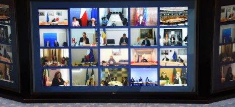 Τηλεδιάσκεψη Υπουργών Γεωργίας και Αλιείας της Ε.Ε. στις 25 Μαρτίου