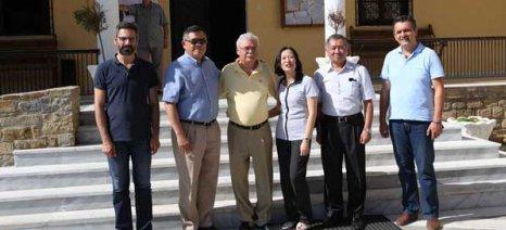 Για τα αρωματικά φυτά του Βοΐου Κοζάνης ενδιαφέρθηκε ο πρόξενος της Ταϊβάν