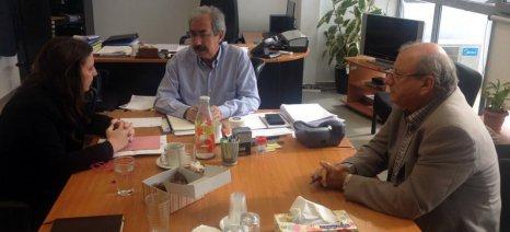 Έλεγχοι, έρευνα και εκπαίδευση οι άξονες της συνάντησης Βράντζα με ηγεσία ΕΛΓΟ