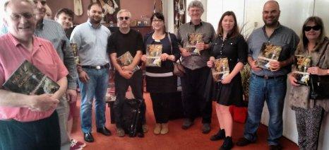 Δέκα δημοσιογράφοι και μπλόγκερ του κρασιού επισκέφθηκαν τη Νάουσα