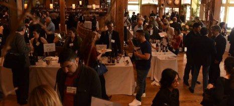 """Ολοκληρώθηκε ο """"μαραθώνιος"""" γευστικών δοκιμών ελληνικού κρασιού σε πέντε μεγάλες πόλεις της Βόρειας Αμερικής"""