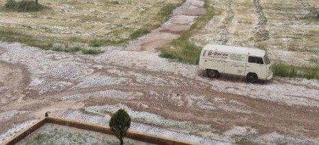 Διαδοχικές οι χαλαζοπτώσεις από τον Έβρο μέχρι την Πελοπόννησο - αναγγελίες ζημιών