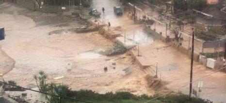 Κινητοποίηση αγροτών στα Χανιά με αφορμή τις καταστροφές