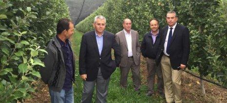 Αγροτοκτηνοτροφικές μονάδες στα Γρεβενά επισκέφθηκε ο Χαρακόπουλος