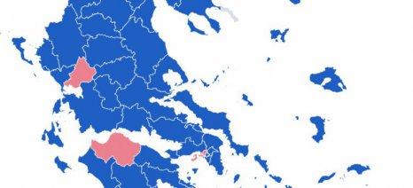 Τα αποτελέσματα των ευρωεκλογών στο 99,45% της επικράτειας