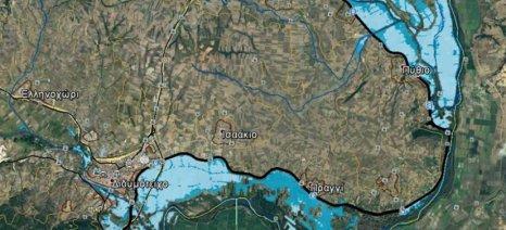 Πού βρίσκονται τα 92.620 πλημμυρισμένα στρέμματα στον Έβρο