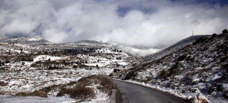 Χιόνια στην Ήπειρο