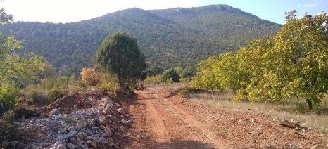 Κοζάνη: Επαναχάραξη αγροτικών δρόμων στην Ξηρολίμνη