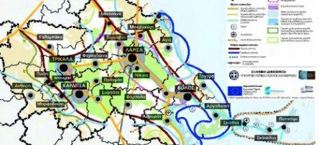 Χωροταξικό Θεσσαλίας: Ο θεσσαλικός κάμπος είναι μία από τις σημαντικότερες γεωργικές περιοχές της χώρας
