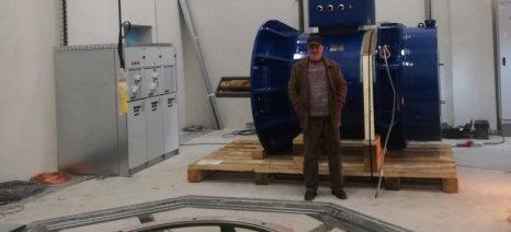 Ο ΤΟΕΒ Βελβεντού δημιούργησε υδροηλεκτρικό σταθμό και τα έσοδα θα τα διαχειρίζονται οι αγρότες