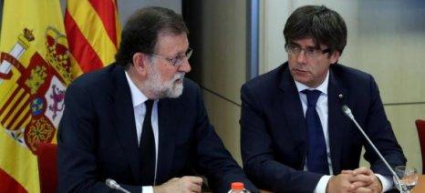 Νέο τελεσίγραφο της Μαδρίτης στην Καταλονία μέχρι την Πέμπτη