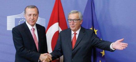 Ο Γιούνκερ δεν καταλαβαίνει γιατί η Ελλάδα διαφωνεί με την Τουρκία