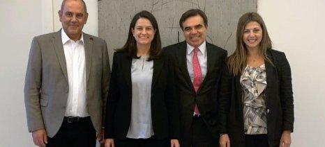 Συνάντηση ηγεσίας υπουργείου Παιδείας με τον επόμενο αντιπρόεδρο της Κομισιόν, Μαργαρίτη Σχοινά