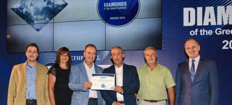 Διαρκές «Διαμάντι της Ελληνικής Οικονομίας» ο Αγροτικός Συνεταιρισμός Ζαγοράς