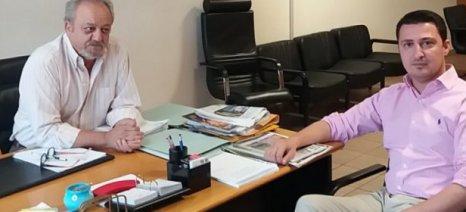 Τον ΕΛΓΑ για τις αποζημιώσεις επισκέφθηκε ο Αντιπεριφερειάρχης Αγροτικής Ανάπτυξης Δυτικής Ελλάδας